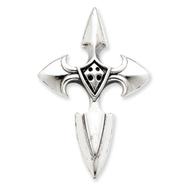 Sterling Silver Gothic Cross Pendant. Price: $54.90