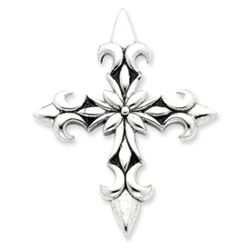 Sterling Silver Antiqued Cross Pendant. Price: $61.46