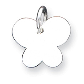 Sterling Silver Butterfly Pendant. Price: $22.17
