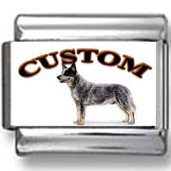 Australian Cattle Dog Custom Photo Charm
