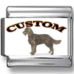 American Water Spaniel Dog Custom Photo Charm