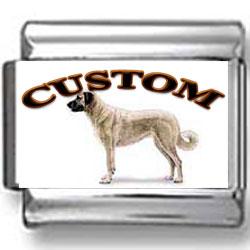 Anatolian Shepherd Dog Custom Photo Charm