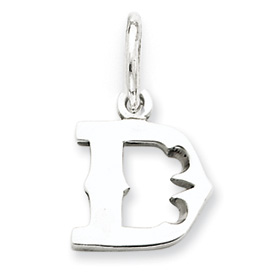Sterling Silver Initial D Pendant. Price: $12.96