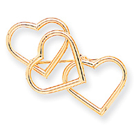 14K Gold Designer Pin. Price: $341.14