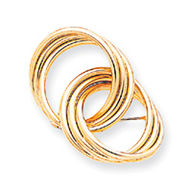 14K Gold Designer Pin. Price: $658.80