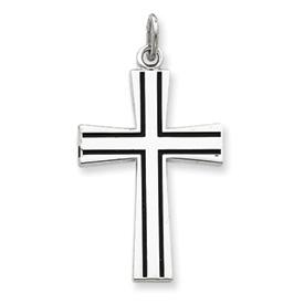 Sterling Silver Enameled Latin Cross. Price: $40.62