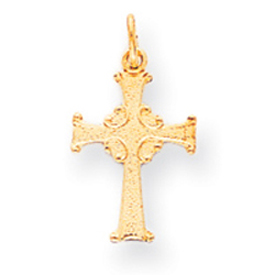14K Gold Celtic Cross Charm. Price: $41.58