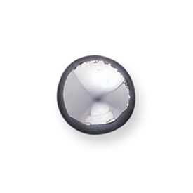 Sterling Silver 13mm Button Earrings. Price: $27.12