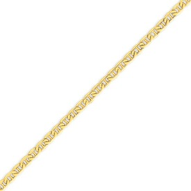 14K Gold  4.1mm Semi-Solid Anchor Chain. Price: $392.68