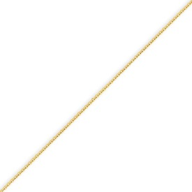 14K Gold 0.8mm Cable Chain. Price: $87.54