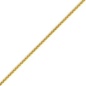 14K Gold 1.9mm Round Wheat Chain. Price: $360.72