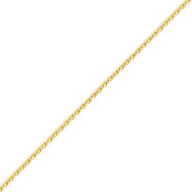 14K Gold 1.5mm Diamond Cut Wheat Chain. Price: $290.74