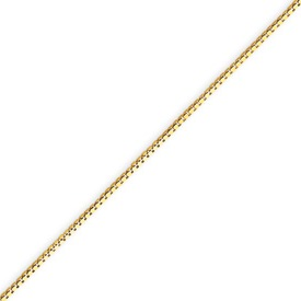 14K Gold 0.84mm Box Chain. Price: $158.04