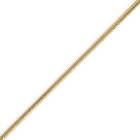 14K Gold 1.6mm Round Snake Chain. Price: $546.31
