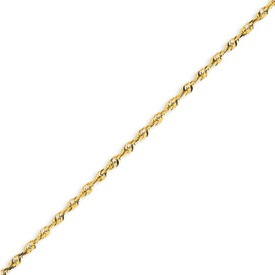 14K Gold 2.14mm Diamond Cut Extra-Lite Rope Chain. Price: $278.68