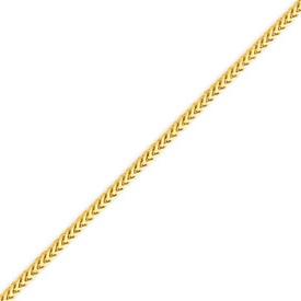 14K Gold 2.0mm Franco Bracelet. Price: $264.20