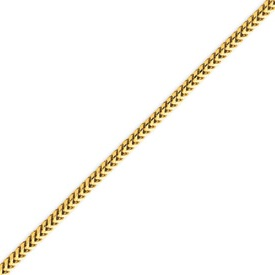 14K Gold 2.0mm Franco Bracelet. Price: $470.00