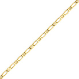14K Gold 3.25mm Fancy Anchor Chain. Price: $361.27