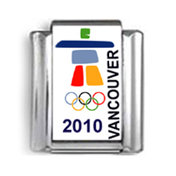 Vancouver Olympic Games 2010 Logo Photo Charm