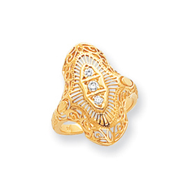 14K Gold AA Diamond Ring. Price: $576.64
