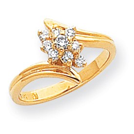 14K Gold AA Diamond Ring. Price: $584.38