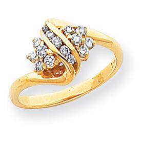 14K Gold AA Diamond Ring. Price: $764.47