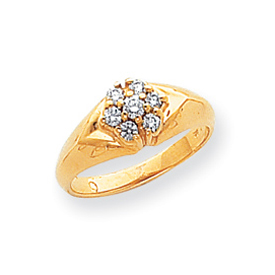 14K Gold AA Diamond Ring. Price: $494.21