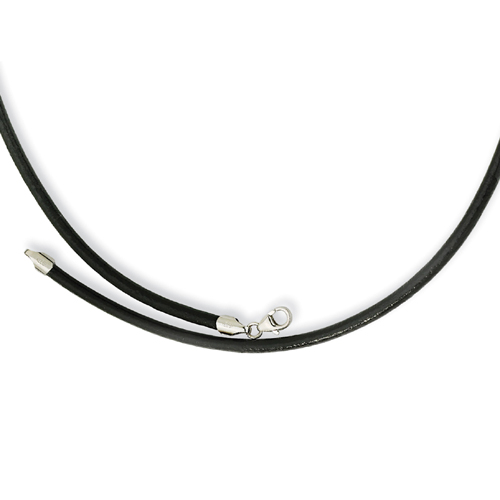 3.00 Genuine Leather Greece Textured Necklace. Price: $22.50