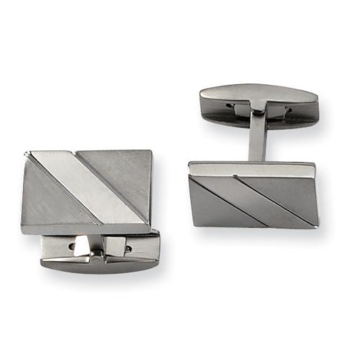Titanium Cuff Links. Price: $49.50