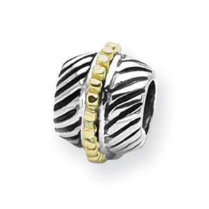 Sterling Silver & 14K Gold Reflections Bali Bead. Price: $145.62