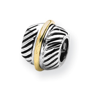 Sterling Silver & 14K Gold Reflections Bali Bead. Price: $106.80
