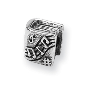 Sterling Silver Reflections Music Book Bead. Price: $22.80