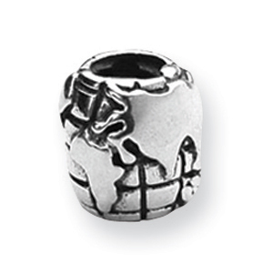 Sterling Silver Reflections World Bead. Price: $24.20
