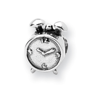 Sterling Silver Reflections Alarm Clock Bead. Price: $24.20