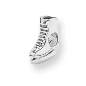 Sterling Silver Reflections Ice Skate Bead. Price: $32.30