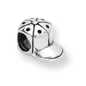 Sterling Silver Reflections Baseball Cap Bead. Price: $22.80